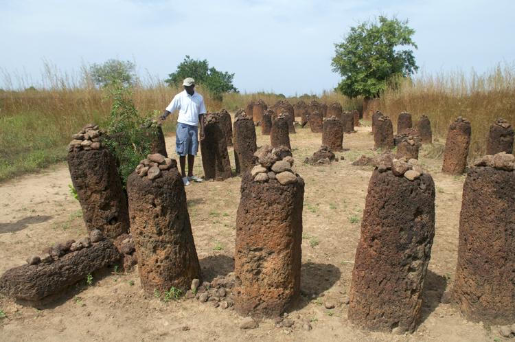 Círculos de piedra de Gambia